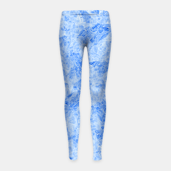 Thumbnail image of b1 Girl's Leggings, Live Heroes
