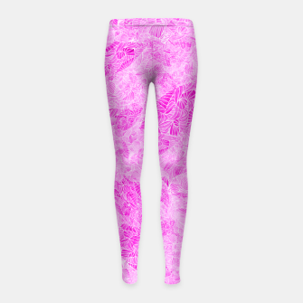 Thumbnail image of pnk Girl's Leggings, Live Heroes