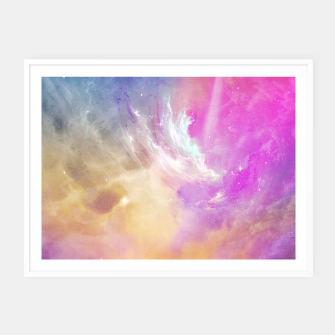 Thumbnail image of Galactic waves Framed poster, Live Heroes