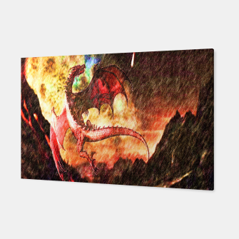Thumbnail image of Dragon's fire Canvas, Live Heroes