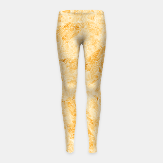 Thumbnail image of oor Girl's Leggings, Live Heroes