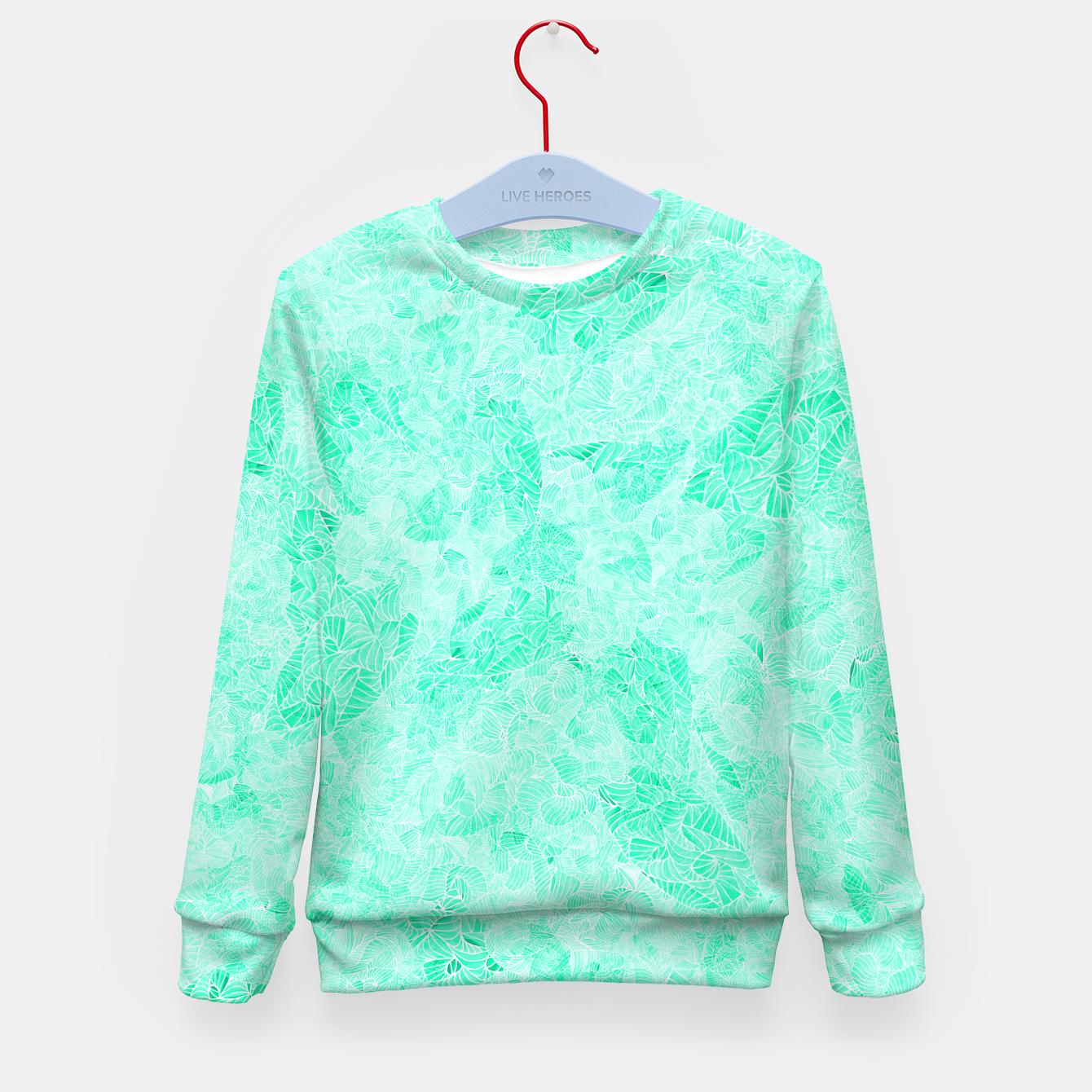 Image of lb Kid's Sweater - Live Heroes
