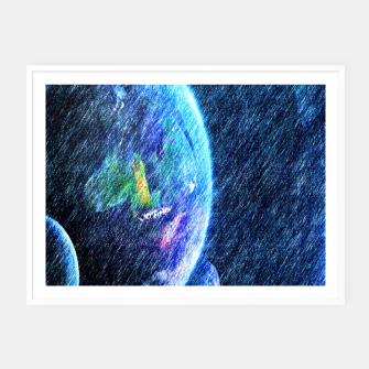 Thumbnail image of Far out there  Framed poster, Live Heroes