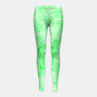 Thumbnail image of g3 Girl's Leggings, Live Heroes