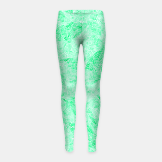 Thumbnail image of tq Girl's Leggings, Live Heroes