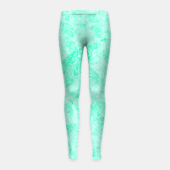 Thumbnail image of lb Girl's Leggings, Live Heroes