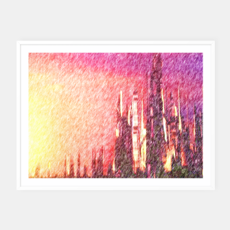 Thumbnail image of Alteran sunset Framed poster, Live Heroes