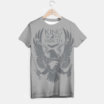 Miniature de image de King In The North T-shirt, Live Heroes