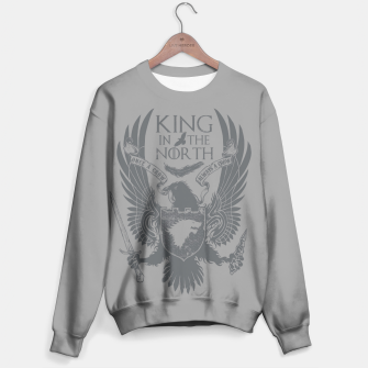 Miniature de image de King In The North Sweater, Live Heroes