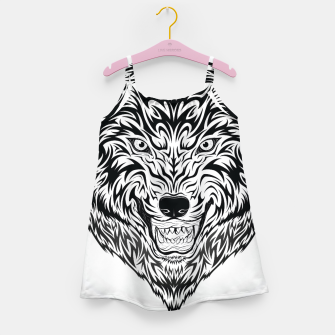 Thumbnail image of Designers girly Dress : Tribal wolf, Live Heroes
