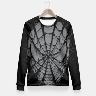 Thumbnail image of Spiderweb Fitted Waist Sweater, Live Heroes
