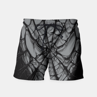 Thumbnail image of Spiderweb Swim Shorts, Live Heroes
