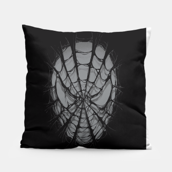 Thumbnail image of Spiderweb Pillow, Live Heroes