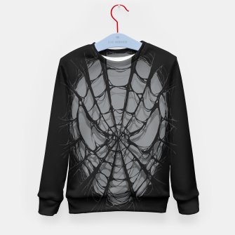 Thumbnail image of Spiderweb Kid's Sweater, Live Heroes