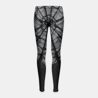 Thumbnail image of Spiderweb Girl's Leggings, Live Heroes