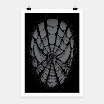 Thumbnail image of Spiderweb Poster, Live Heroes
