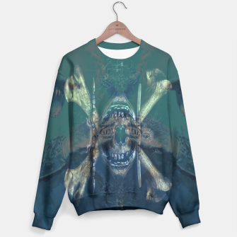 Thumbnail image of pirates of the caribbean dead man tells no tales shark skull Sweater, Live Heroes