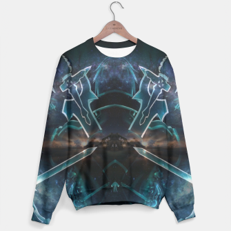 Thumbnail image of Sword art Online game Effect Sweater, Live Heroes