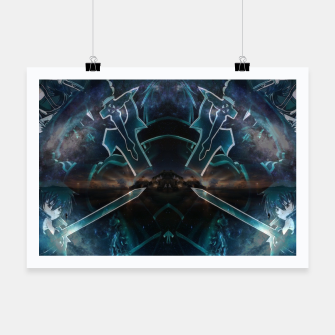 Thumbnail image of Sword art Online game Effect Poster, Live Heroes
