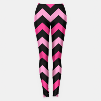 Miniaturka SPORTY LEGGINGS : PINK BLACK Vintage edition, Live Heroes