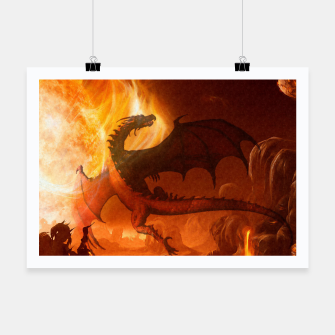 Thumbnail image of Dragon's world Poster, Live Heroes