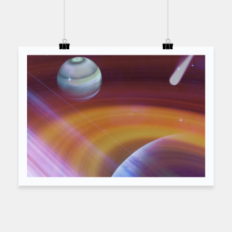 Thumbnail image of Outer space Poster, Live Heroes