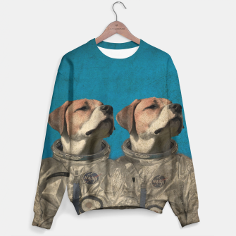 Thumbnail image of Journey Into Outer Space Sweater, Live Heroes