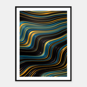 Thumbnail image of Go With the Flow Framed poster, Live Heroes
