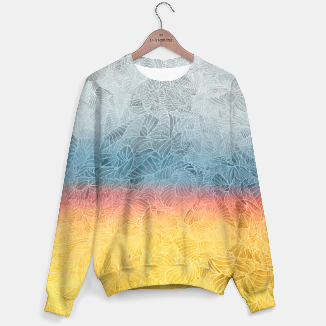 Image of rgb Sweater - Live Heroes