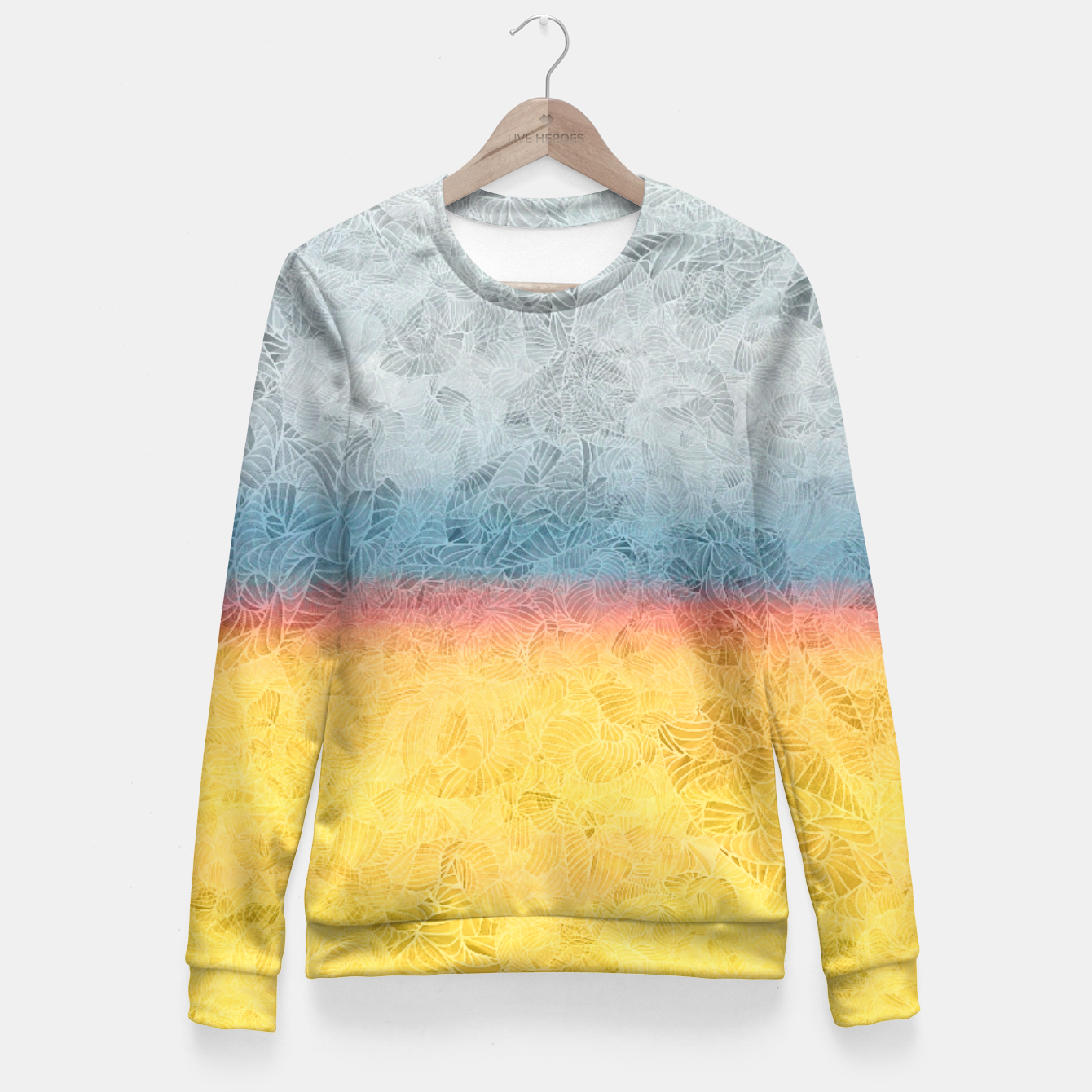Image of rgb Fitted Waist Sweater - Live Heroes