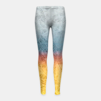 Thumbnail image of rgb Girl's Leggings, Live Heroes