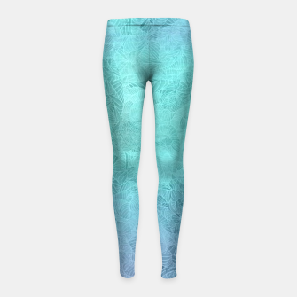 Thumbnail image of bg Girl's Leggings, Live Heroes
