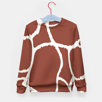 Thumbnail image of Kids sweater : Brown cow 50s edition, Live Heroes