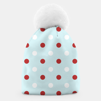Thumbnail image of Designers Winter beanie : with 50s dots, Live Heroes