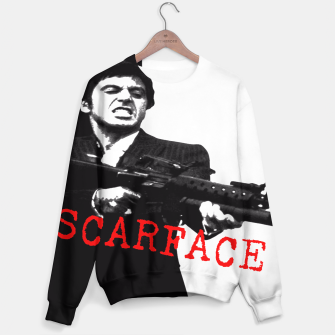 Thumbnail image of New Fashion Black Shirt For Mens Scarface Guns Apparels Gift T-shirt Unisex sweater, Live Heroes
