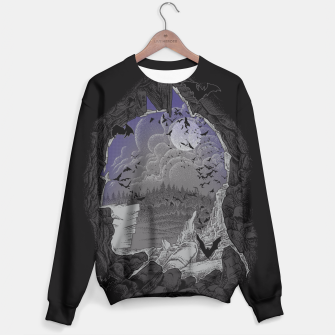 Thumbnail image of Bat cave Sweater, Live Heroes