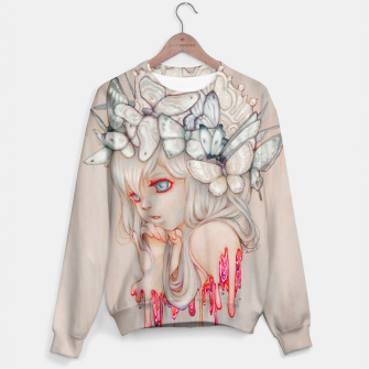 Thumbnail image of Strawberry Whispers Sweater, Live Heroes