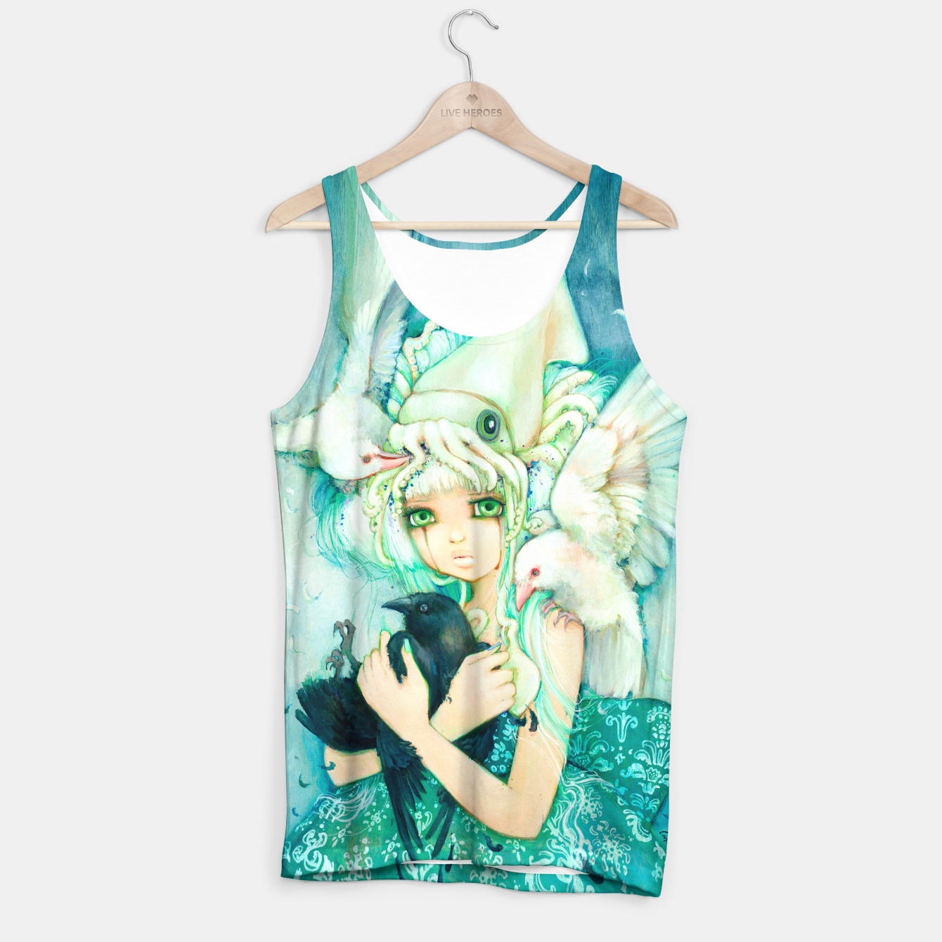 Image of No Ordinary Love Tank Top - Live Heroes
