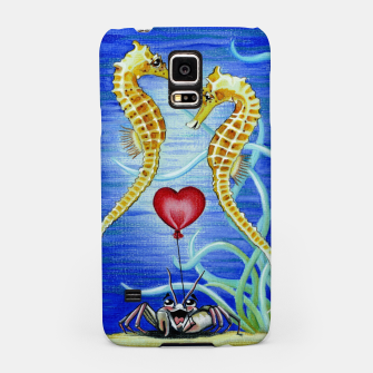 Thumbnail image of Two Seahorses in Love Samsung Case, Live Heroes