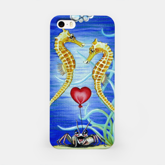 Thumbnail image of Two Seahorses in Love iPhone Case, Live Heroes