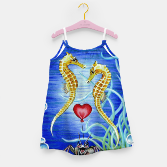 Thumbnail image of Two Seahorses in Love Girl's Dress, Live Heroes
