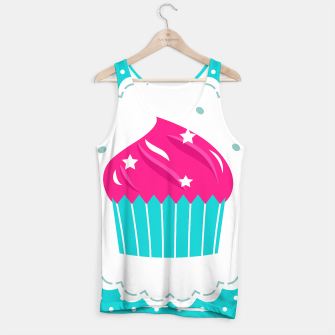 Miniatur Luxury Designers tank top with MUFFIN, Live Heroes
