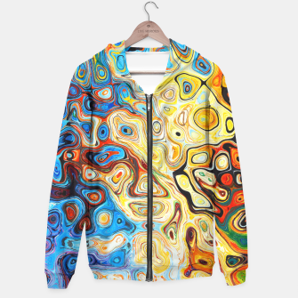 Miniatur Colourful Melting Shapes Hoodie, Live Heroes