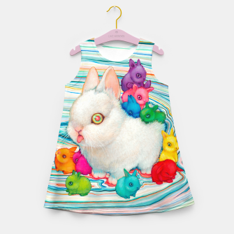 Miniatur Rainbuns Kids Summer Dress, Live Heroes