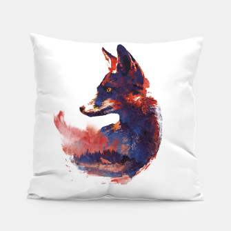 Thumbnail image of The future is bright Pillow, Live Heroes