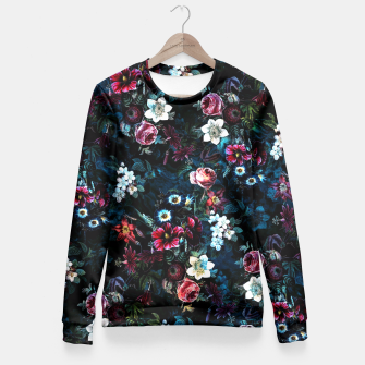 Thumbnail image of Night Garden XI Fitted Waist Sweater, Live Heroes