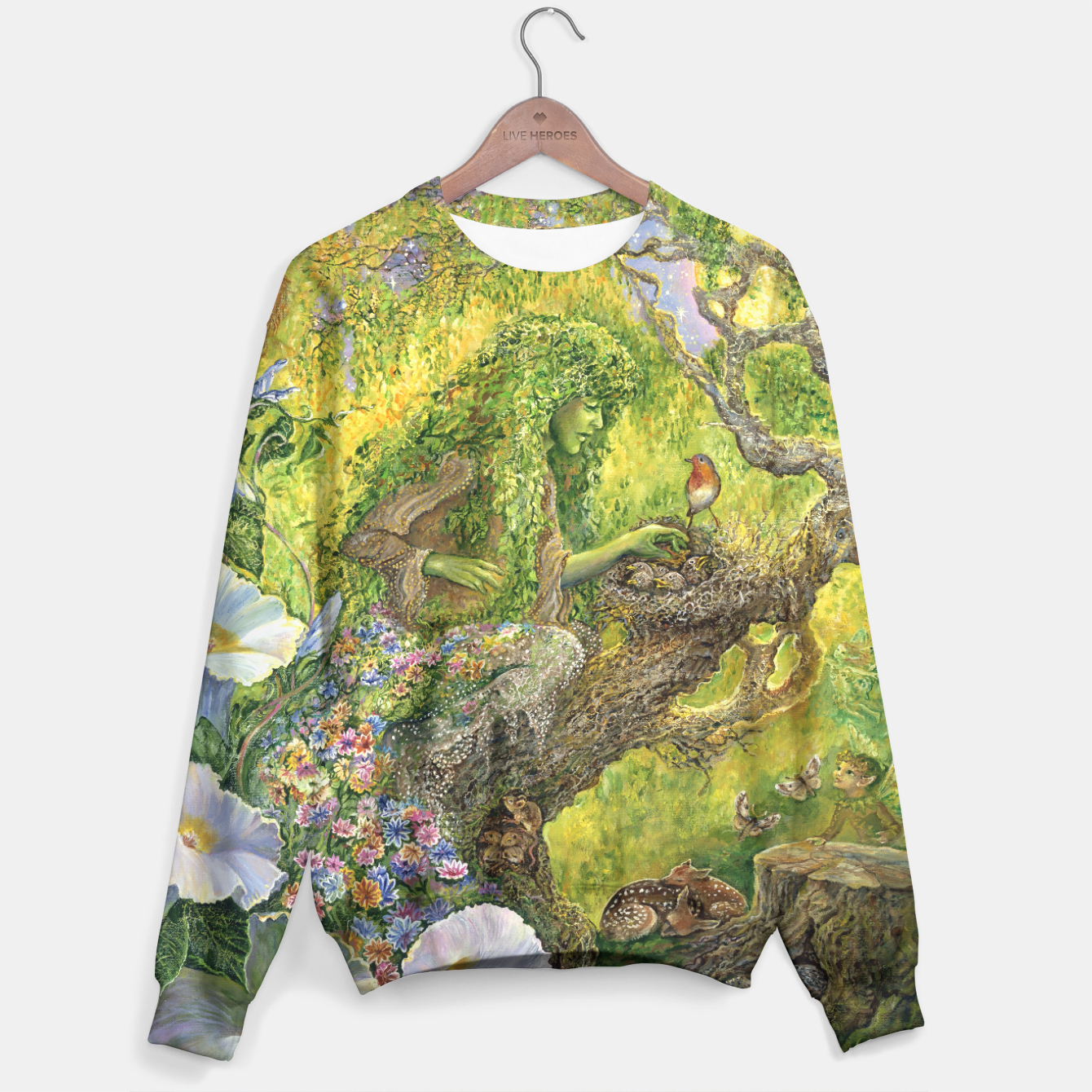 Image of Forest Protector Sweater - Live Heroes