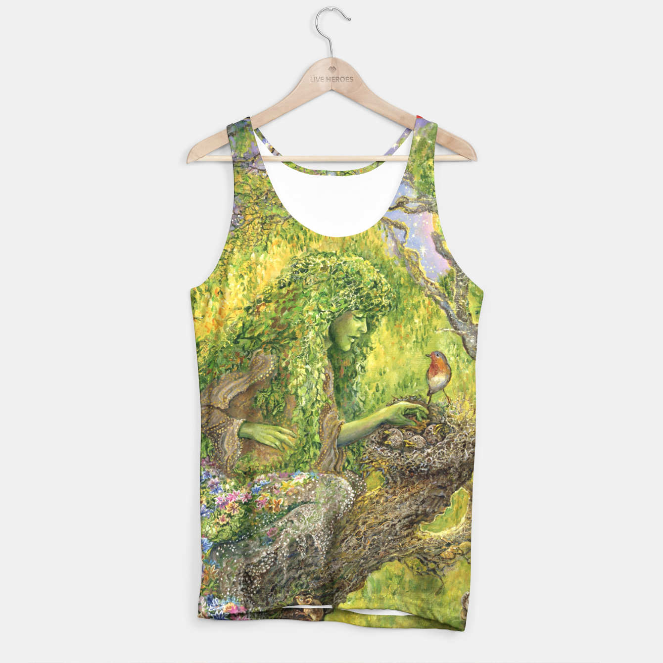 Image of Forest Protector Tank Top - Live Heroes