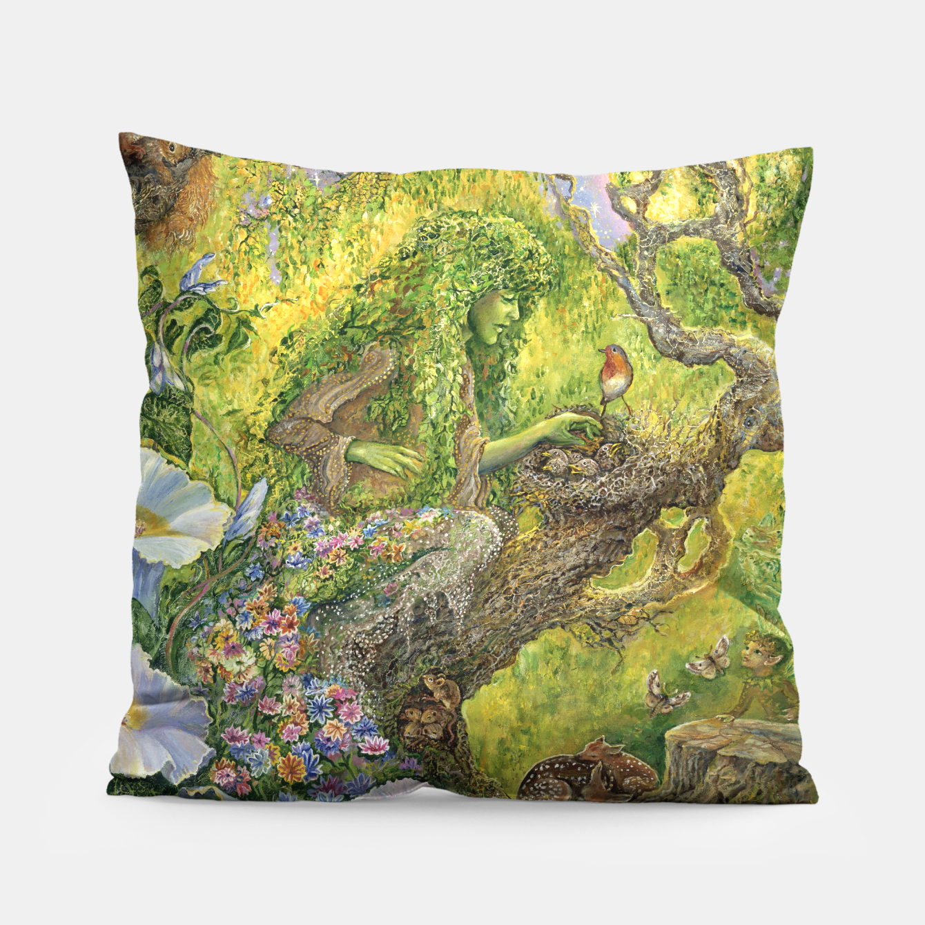 Image of Forest Protector Pillow - Live Heroes