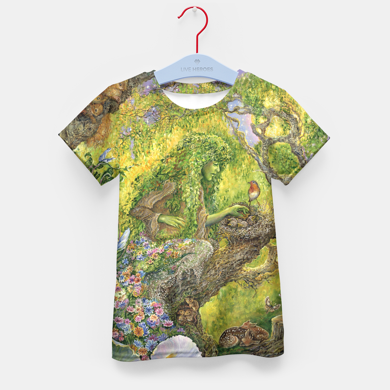 Image of Forest Protector Kid's T-shirt - Live Heroes
